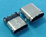 USB3.1  C TYPE FEMALE  SMT/DIP 板厚1.60MM